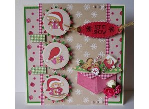 Joy!Crafts und JM Creation Corte y Repujado: caja, regalo