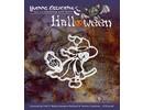 """Yvonne Creations Perforación y la máscara de relieve, Halloween """"una bruja"""""""