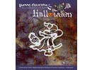 "Yvonne Creations Punching and embossing mask, Halloween ""a witch"""