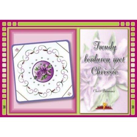 Bücher und CD / Magazines Bastelbuch, Hobbydols 38, borduren moda reunió Chrissie