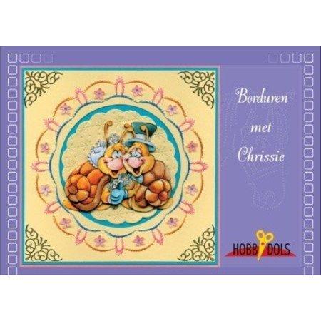 Bastelbuch, Hobbydols 1, mødte Trendy borduren Chrissie