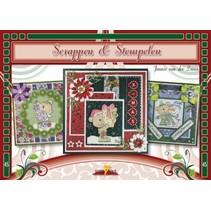Bastelbuch, scrapbooking, stamping