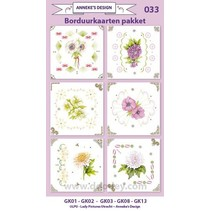 Stick Card Kits, for the design of 6 cards