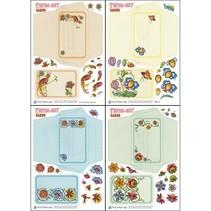 Bastelset zur Gestaltung von Twin-Set Cards
