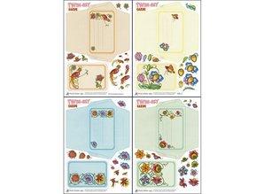 KARTEN und Zubehör / Cards Bastelset vedrørende udformning af Twin-Set Cards