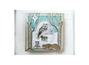 Marianne Design Embossing Folder, winter landscape