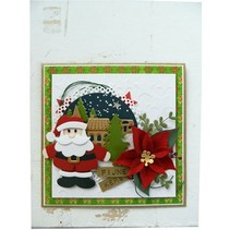 Stamping- and pre-template, Collectables, Santa Claus