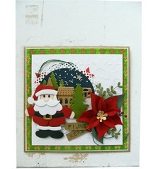 Marianne Design Stamping- and pre-template, Collectables, Santa Claus