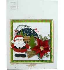 Marianne Design Stanz- und Prägeschablone, Collectables, Weihnachtsmann