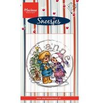 Transparent stamps Marianne design, Singing Snoesjes