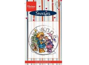 Stempel / Stamp: Transparent Transparent stamps Marianne design, Singing Snoesjes