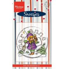 Stempel / Stamp: Transparent Transparent Stempel, Marianne design, Snoesjes im Schnee