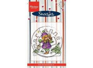 Stempel / Stamp: Transparent Transparent stamps Marianne design, Snoesjes in snow