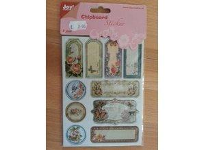Joy!Crafts und JM Creation 10 Chipboards Sticker, 2mm dick