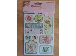 Joy!Crafts und JM Creation 10 pegatinas de aglomerado, 2 mm de espesor