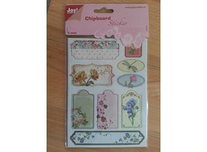 Joy!Crafts und JM Creation 10 chipboard stickers, 2mm thick
