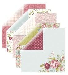 Designer Papier Scrapbooking: 30,5 x 30,5 cm Papier Designer papir, roser
