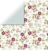 Designer Papier Scrapbooking: 30,5 x 30,5 cm Papier Designerpapier, Rosen