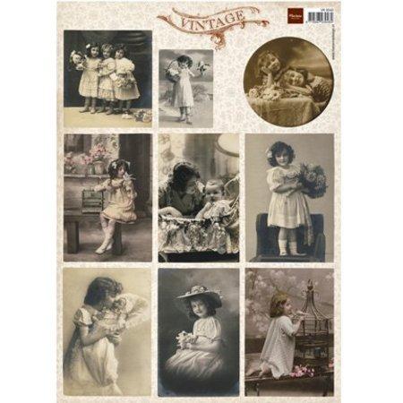 Nellie snellen Vintage Bilder Bogen