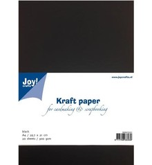 Joy!Crafts und JM Creation Kraftpapier schwarz