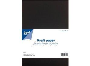 Joy!Crafts und JM Creation Kraftpapier schwarz