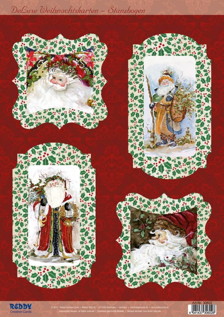 bastelsets craft kits bastelset f r 4 weihnachtskarten. Black Bedroom Furniture Sets. Home Design Ideas