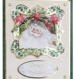 BASTELSETS / CRAFT KITS: Bastelset de 4 Tarjetas de Navidad