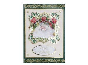 BASTELSETS / CRAFT KITS: Bastelset for 4 Christmas Cards