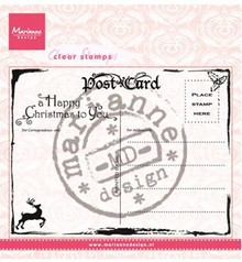 Marianne Design Transparent stamps Marianne Design, Postcard