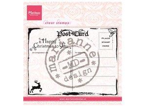 Marianne Design Gennemsigtige frimærker Marianne Design, Postkort