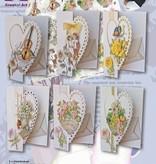 BASTELSETS / CRAFT KITS: Bastelset med hjerte-kort