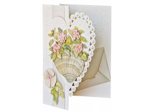BASTELSETS / CRAFT KITS: Bastelset con carta di cuore