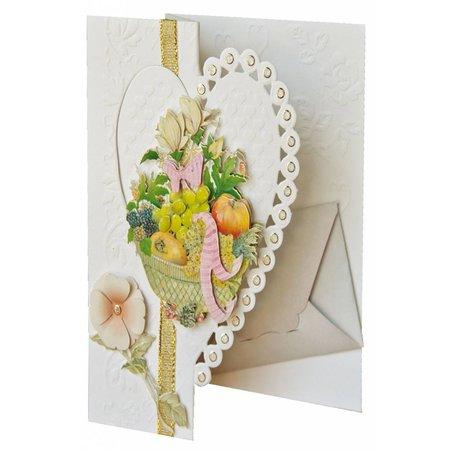 BASTELSETS / CRAFT KITS: Kit with heart cards