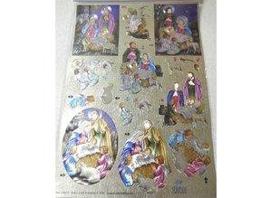 BILDER / PICTURES: Studio Light, Staf Wesenbeek, Willem Haenraets Dufex-cut sheets: Holy Family
