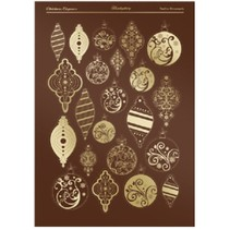 Die cut sheets from Hunkydory, Christmas Elegance