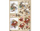 BILDER / PICTURES: Studio Light, Staf Wesenbeek, Willem Haenraets 1 Deluxe Die cut sheets: 3D Die cut sheets nostalgic / Vintage Santas