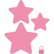 Stanz- und Prägeschablonen, Christbaum-Sterne/Weihnachts-Sterne