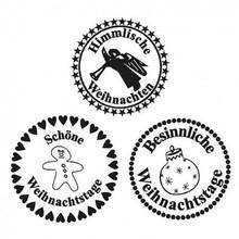 Stempel / Stamp: Transparent Stamp Transparent, Heavenly Christmas, A7