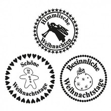 Stempel / Stamp: Transparent Stempel Transparent, Heavenly jul, A7