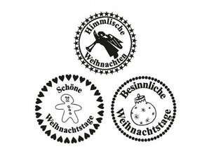 Stempel / Stamp: Transparent Stamp Transparent, Heavenly Christmas, A7