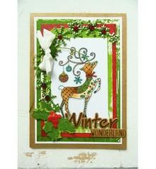 Stempel / Stamp: Transparent Francobollo, Trasparente, renna
