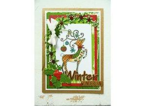 Stempel / Stamp: Transparent Stamp, Transparent, reindeer