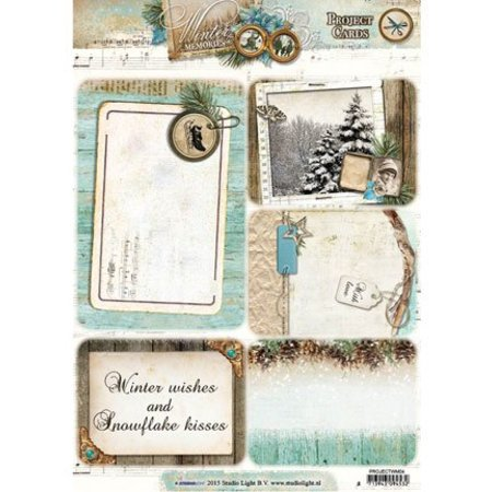 BILDER / PICTURES: Studio Light, Staf Wesenbeek, Willem Haenraets Projekt Cards, Winter Memories