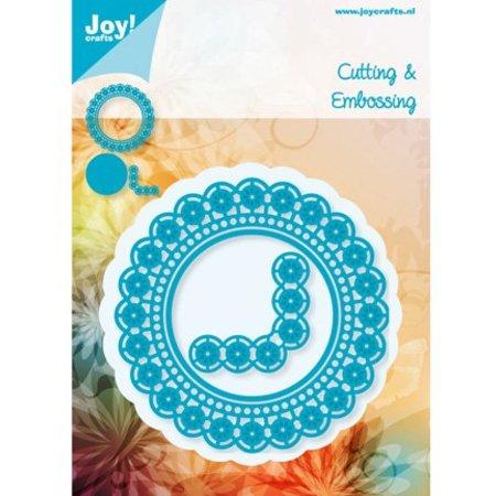 Joy!Crafts und JM Creation Stanz- und Prägeschablonen, Kreise und Ecke