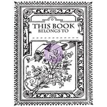 Gennemsigtige frimærker, Princess, Kouvert Mini bog