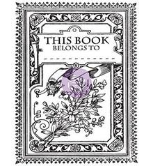 Prima Marketing und Petaloo Transparent stamps, Princess, Kouvert Mini Book