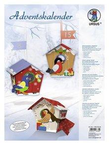 "Exlusiv Completa Bastelset per un calendario ""birdie"" Avvento"