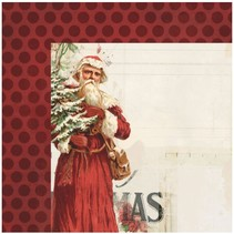 1 Designer Arch, Vintage Christmas, 30.5 x 30.5 cm