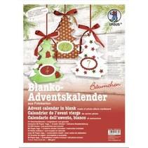 Complete Bastelset for an Advent calendar