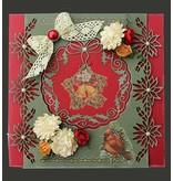 Joy!Crafts und JM Creation Stanz- und Prägeschablone: Weihnachtsstern-Girlande